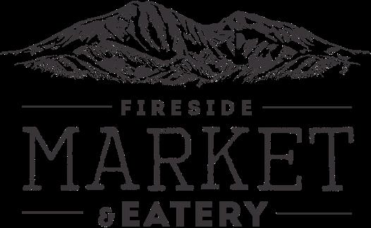 A theme logo of Fireside Market